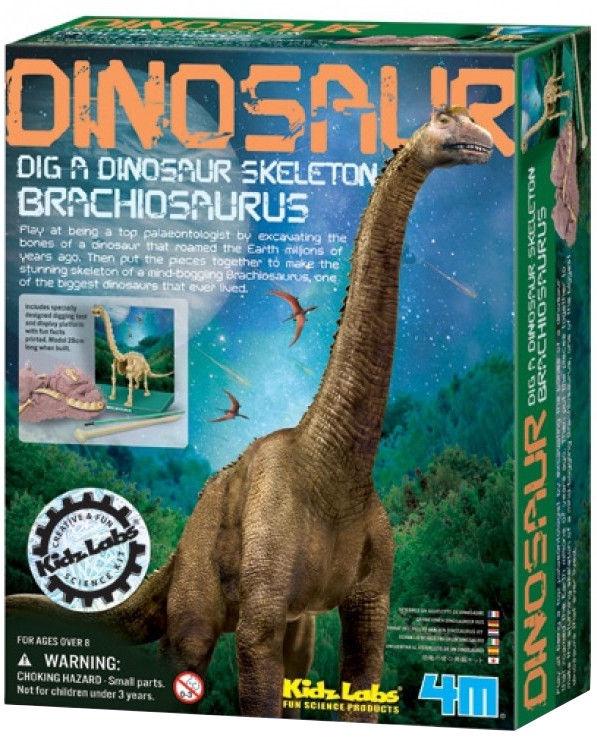 Izglītojoša rotaļlieta 4M Dig A Dino Skeleton Brachiosaurus 3237