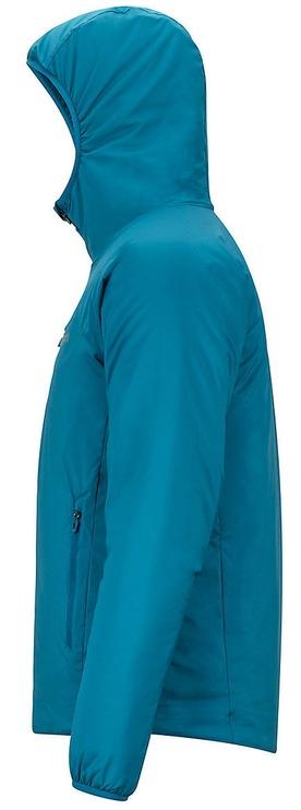 Jaka Marmot Mens Novus Hoody Morrocan Blue L