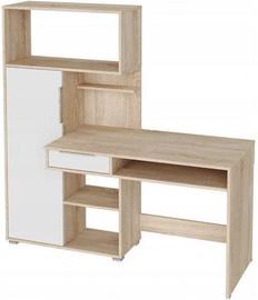 Письменный стол Tuckano Sonoma Oak/White