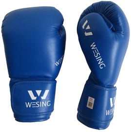 Wesing Aiba Boxing Gloves 12oz Blue
