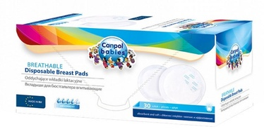 Вкладки в бюстгальтер Canpol Babies Breathable Disposable Breast Pads 30pcs 1/653
