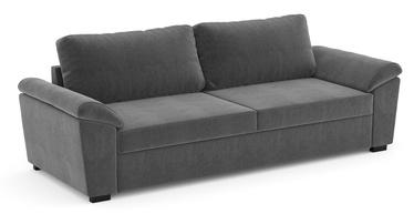 Диван-кровать Home4you Hudson 63949, серебристый/серый, 239 x 88 x 87 см