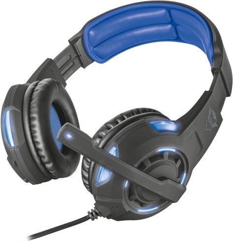 Игровые наушники Trust Radius GXT 350 Black/Blue