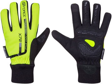 Force Kid X72 Full Gloves Yellow Black S