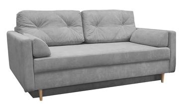 Dīvāngulta Idzczak Meble Astoria Queens 21 Grey, 216 x 100 x 74 cm