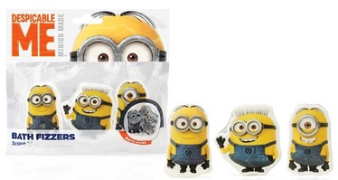 Corsair toilretries Despicable Me Bath Fizzers 3x18g