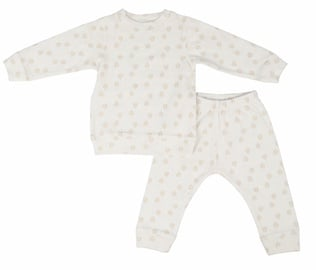 Lodger Baby Pajama Sleeper Rib Cloud Dancer 92