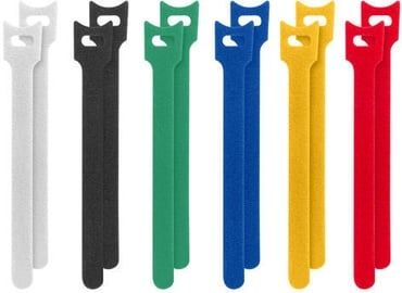 Lanberg Velcro Cable Ties Multicolor