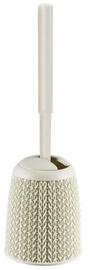 Щетка для унитаза Curver Toilet Brush With The Holder Knit White