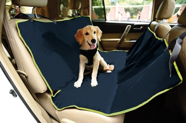 Record Cover For Car Seats Blue 142x142cm