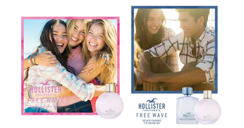 Smaržas Hollister Free Wave For Her 100ml EDP