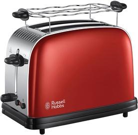 Тостер Russell Hobbs Colours Plus Flame Red 23330-56, красный/нержавеющей стали