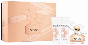 Komplekts sievietēm Marc Jacobs Daisy Love 50 ml EDT + 75 ml Body Lotion + 75 ml Shower Gel