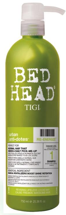 Шампунь Tigi Bed Head Re-Energize, 750 мл