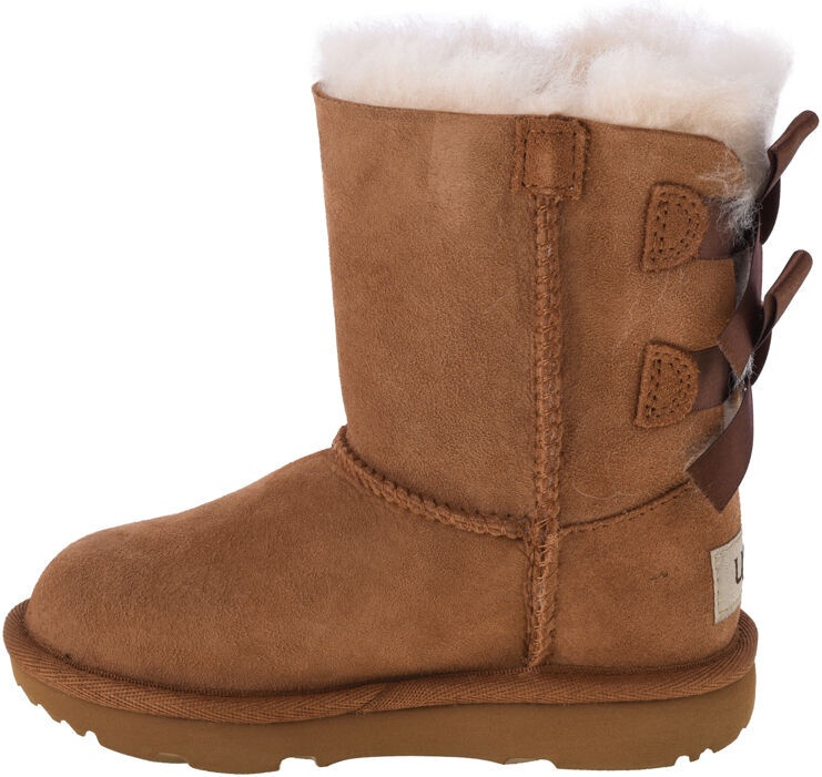 Kurpes UGG Kids Bailey Bow II Boot 1017394T-CHE Chestnut 28.5