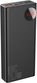 Baseus Quick Charge Power Bank 20000mAh Black