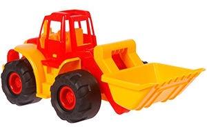 Automašīnas Verners Tractor 605 Red