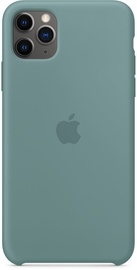 Apple Silicone Back Case For Apple iPhone 11 Pro Max Cactus