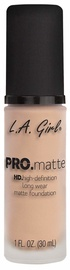 Tonizējošais krēms L.A. Girl PRO Matte Foundation Porcelain, 30 ml