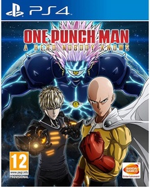 Spēle One Punch Man: A Hero Nobody Knows PS4