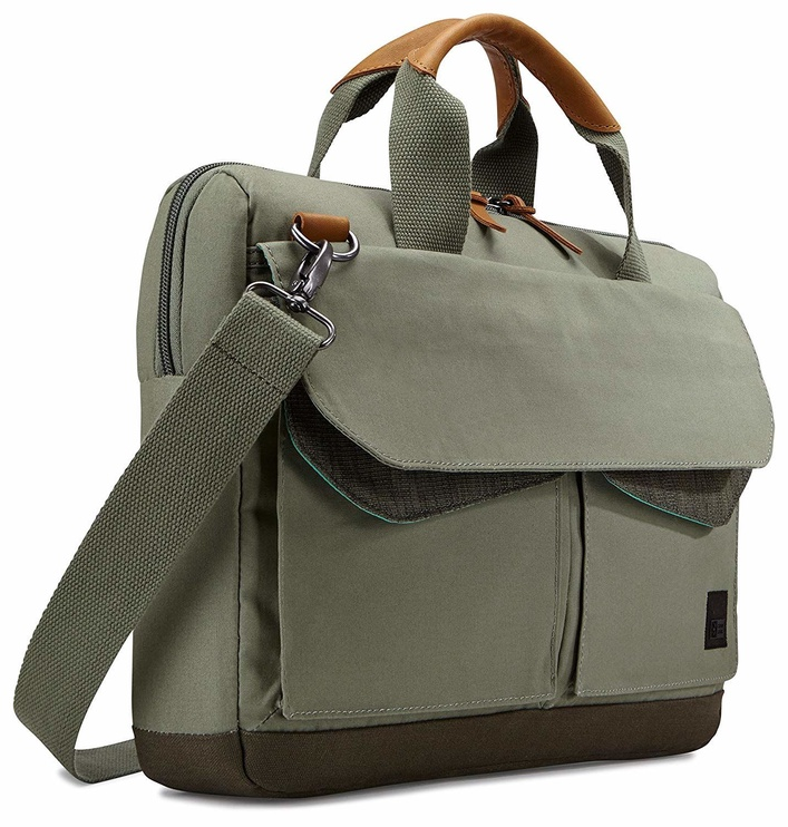 Case Logic LoDo 14 Laptop Attache Green 3203182