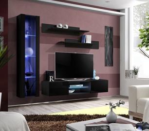 Dzīvojamās istabas mēbeļu komplekts ASM Fly R2 Black
