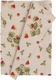Galda paklājiņš Home4you Strawberries, daudzkrāsains, 1160 mm x 430 mm