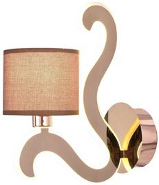 Candellux Ambrosia 40W E14 6W LED Wall Lamp Copper