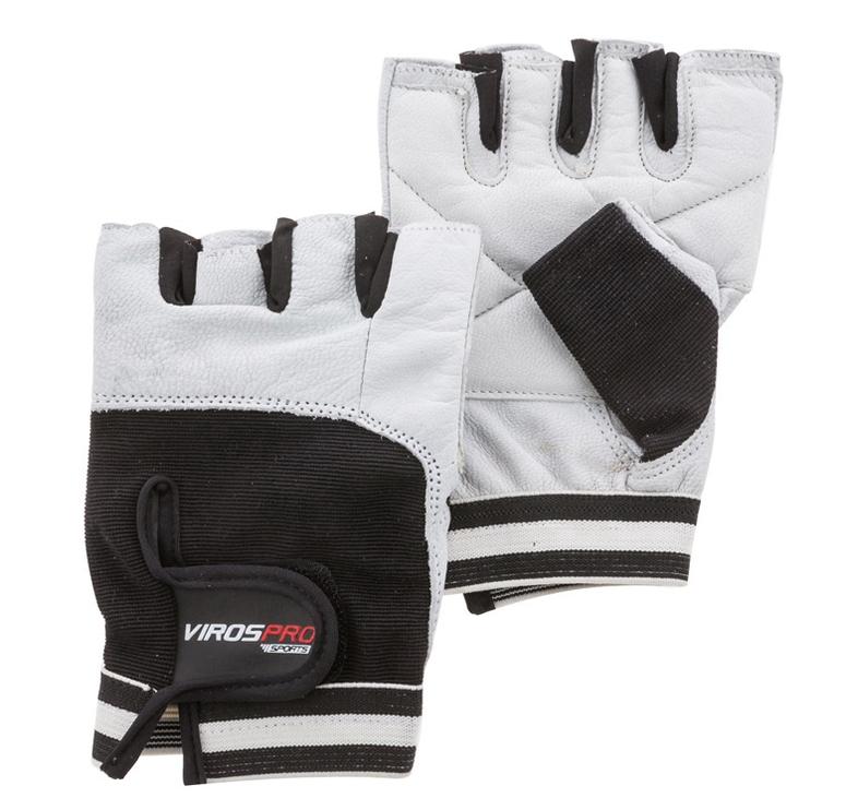 VirosPro Sports Gym Gloves White/Black M SG-1164A