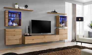 ASM Switch XIV Wall Unit Wotan Oak