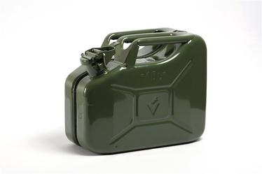 Metāla degvielas kanna Valpro F-1300 10 l, zaļa