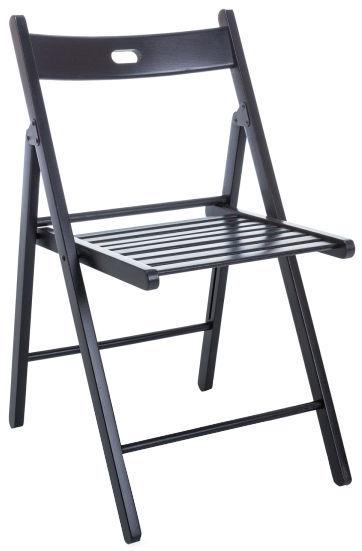 Ēdamistabas krēsls Signal Meble Smart II Black, 1 gab.