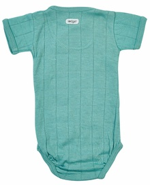 Lodger Solid Romper Short Sleeves Duty Turquoise 68cm