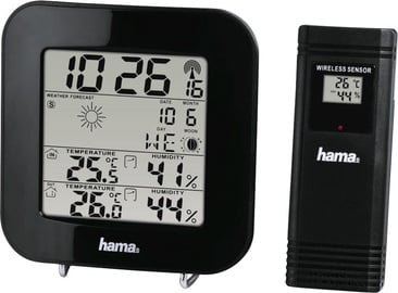 Hama EWS-200 Weather Station Black