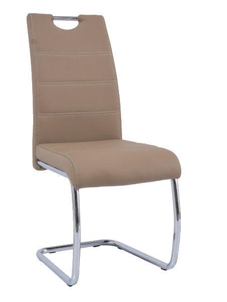 Ēdamistabas krēsls Signal Meble H666 Beige, 1 gab.