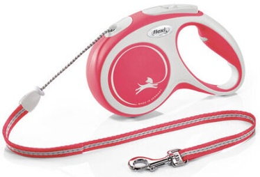 Flexi New Comfort Cord Leash S 5m Red
