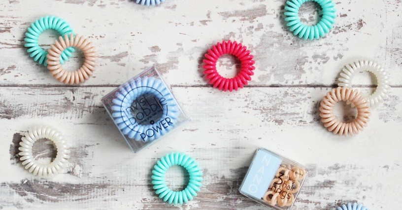 Invisibobble Power Hair Rings 3pcs Crystal Clear