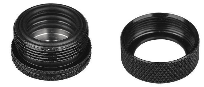 "Thermaltake Pacific G1/4 PETG Tube 16mm (5/8"") OD Compression Black"