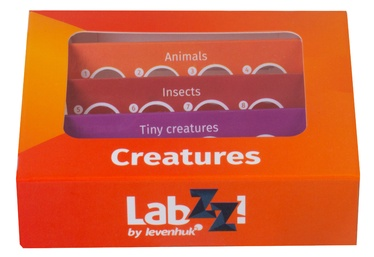 Levenhuk LabZZ C12 Creatures Prepared Slides Set