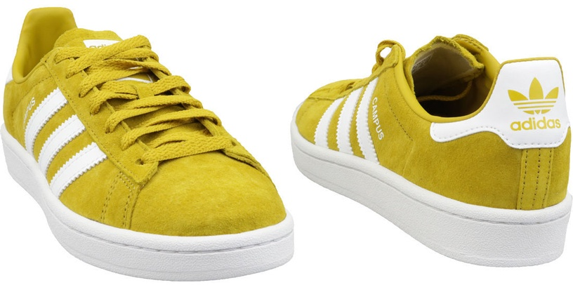 Adidas Campus Shoes CM8444 Yellow 40 2/3