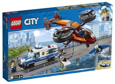 Konstruktors Lego City Sky Police Diamond Heist 60209