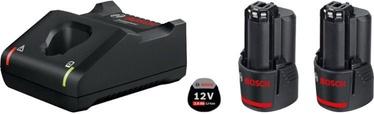 Комплект Bosch GBA 12V 2x2.0Ah + GAL 12V-40 Set