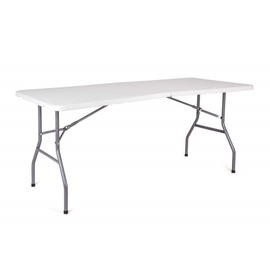 Verners Oblo Folding Table White