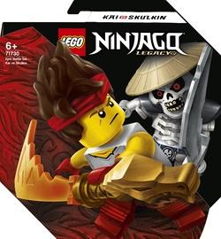 Konstruktors LEGO Ninjago Episkās kaujas komplekts: Kai pret Skulkin 71730, 61 gab.