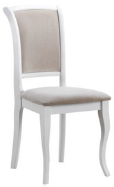 Ēdamistabas krēsls Signal Meble MN-SC White/Beige, 1 gab.