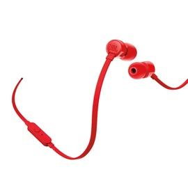 Наушники JBL T110 in-ear, красный