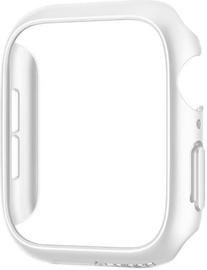 Защитная рамка Spigen Thin Fit Bumper For Apple Watch 4/5 44mm White