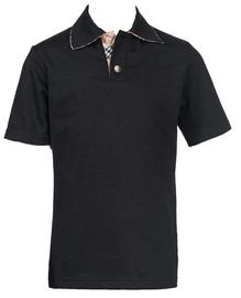 Bars Mens Polo Shirt Black 22 116cm
