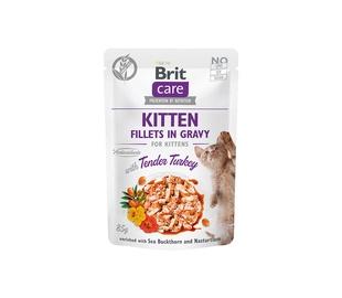 Влажный корм для кошек Brit Care Kitten Tender Turkey, 0.085 кг