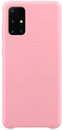 Hurtel Soft Flexible Rubber Back Case For Samsung Galaxy A71 Pink